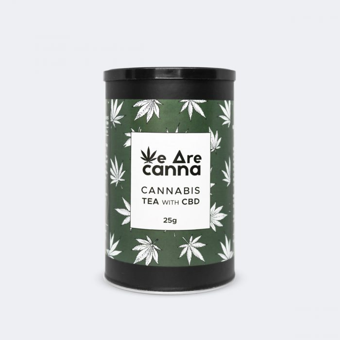 CBD cannabis tea we are canna