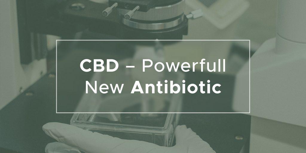 CBD - powerful new antibiotic | We Are Canna