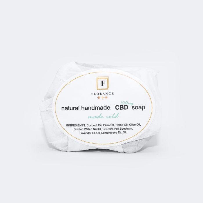 CBD muilas 90 g / 100 mg CBD