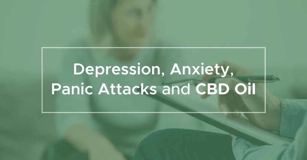 Depression, Anxiety, Panic Attacks And Cbd Oil